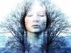A Tranced Woman