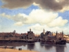 Johannes Vermeer, View on Delft.